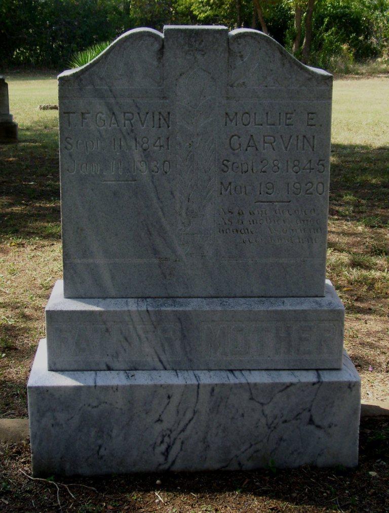 Thomas Garvin Family